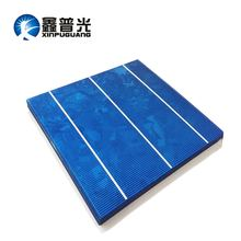XINPUGUANG 50pcs 156*150MM 4.2W solar cell Polysilicon silicon DIY solar panel 200W PV module Photovoltaic 18% efficiency 0.5v