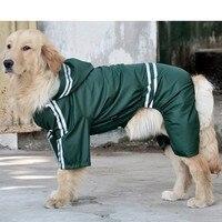 Projetado Traje Jaqueta Tamanho Grande Cão Capa de Chuva Capa de Chuva impermeável Cão Filhote de cachorro Produtos Pet Dog Raincoat Animais Vestuário Sportswear