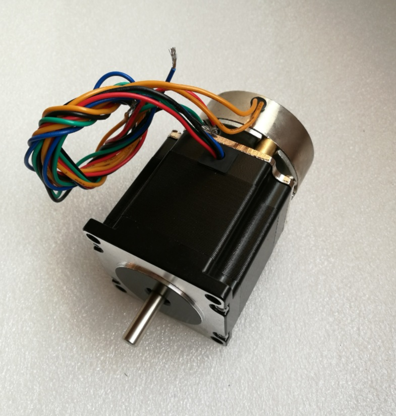 цена на 23HS5628 6.35m 4-lead Nema 23 Stepper Motor with brake Power off self-locking 57 motor 2.8A ISO CNC Laser Grind Foam Plasma Cut