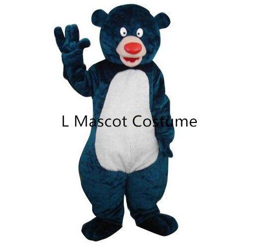 North Africa Baloo bear mascot costume take adult size