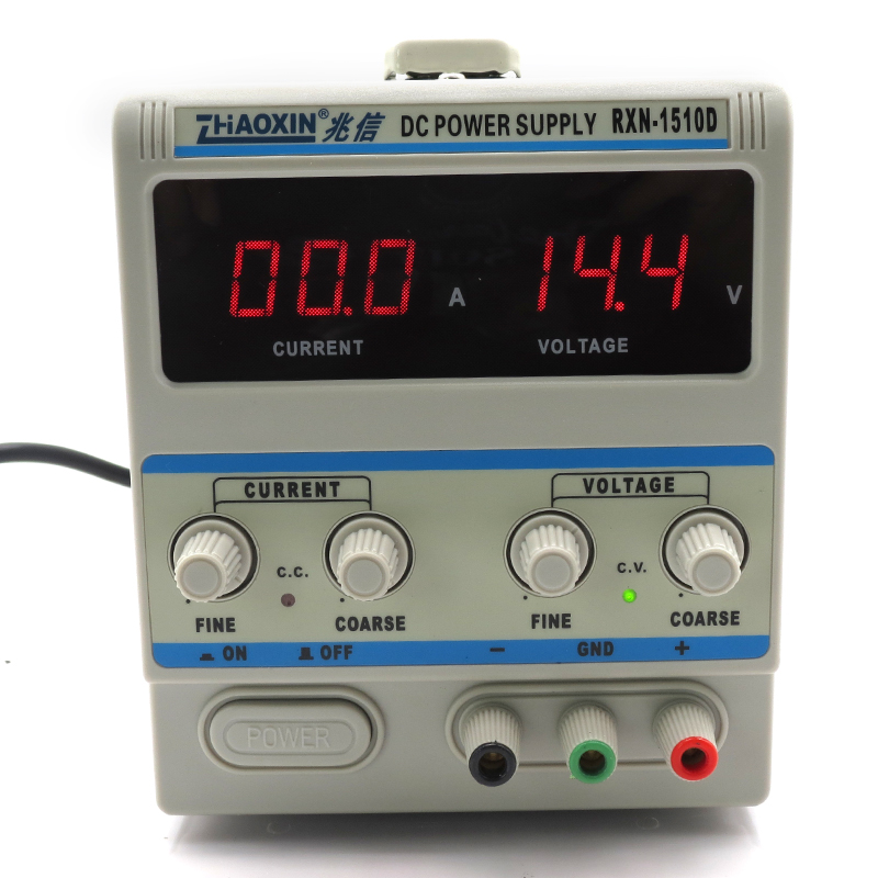 цена на RXN-1510D digital DC power supply 15V / 10A linear DC power supply 0.1V 0.01A