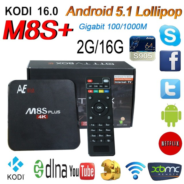 US $95 0 |Aliexpress com : Buy Android IPTV Player M8S Plus Best 4K HD IPTV  For all europe countries from Reliable best hd suppliers on EU-TV Store