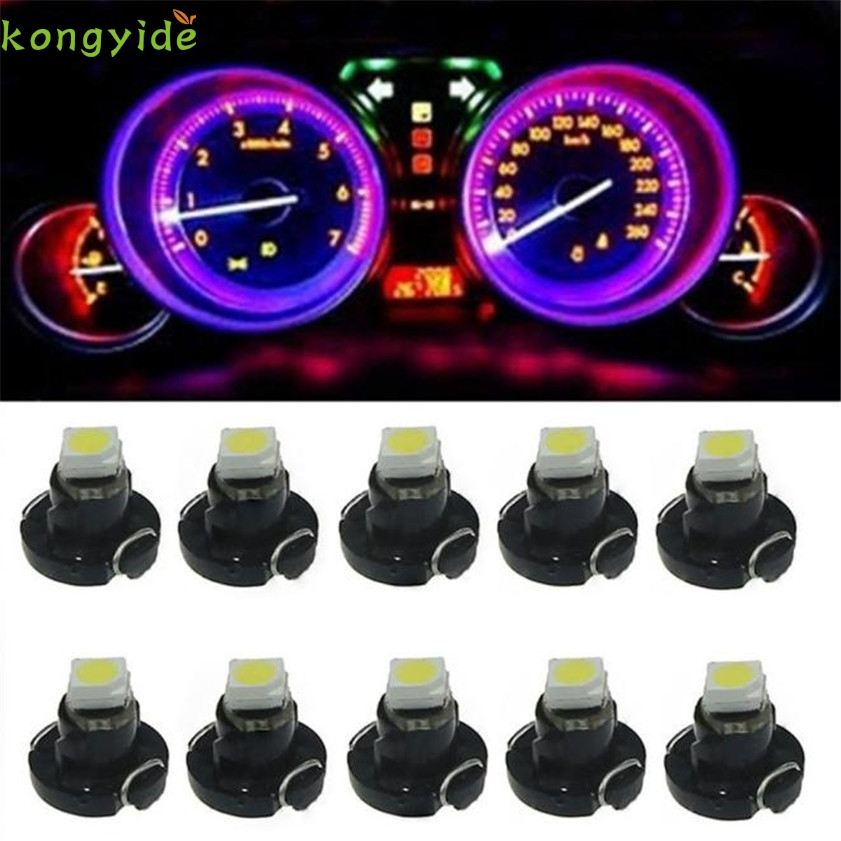 все цены на High Quality   10pcs T3 SMD Dashboard Instrument Cluster Light Car Panel Gauge онлайн