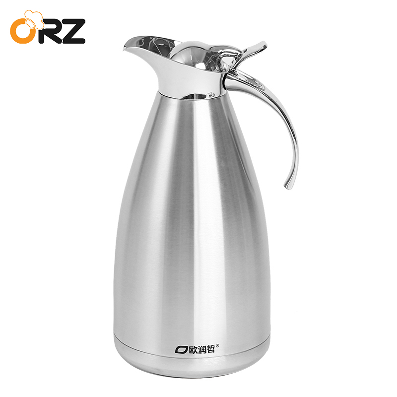 2L Thermos Cup Stainless Steel Thermo insulated Mug Travel kettle