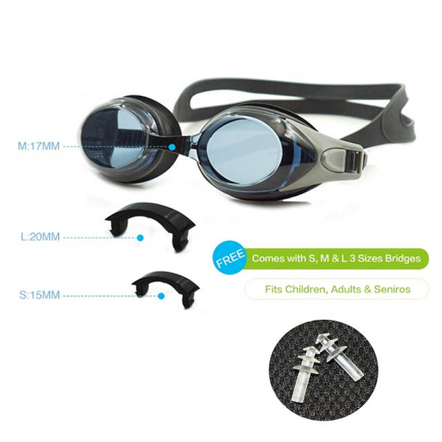 821282e182 placeholder Optical Swim Goggles +Rx -Rx Prescription Swimming Glasses  Adults Children Different Strength Each Eye