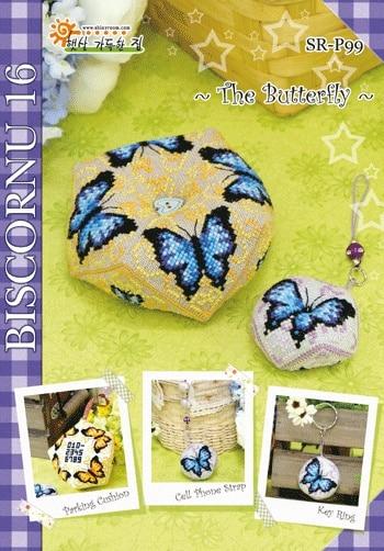 Cross Stitch Pin Neddle Đệm 14ct 18CT Biscornu Vá DIY Kit Cho Thêu Đặt Bông Chủ Đề Tính Cross-Khâu