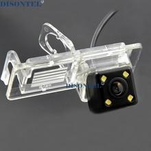 Проводная Беспроводная камера ночного видения, Автомобильная камера заднего вида с 4 светодиодный HD CCD камерой для Renault Megane 2009-2013