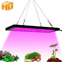 LED 식물 성장 조명 SMD2835 레드 + 블루 + UV + IR 전체 스펙트럼 LED 성장 램프 정원 꽃 수경 법 성장 텐트