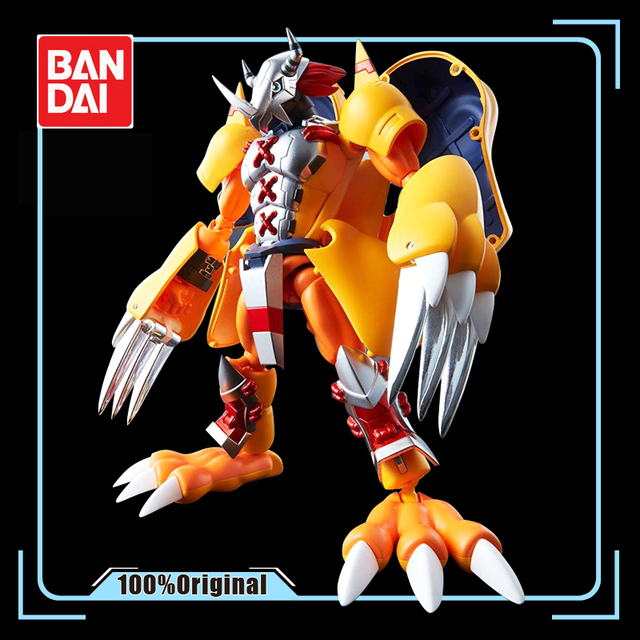 BANDAI Digivolving duchy Digimon potwór Agumon WarGreymon model postaci modyfikacji deformowalne