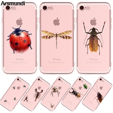 Arsmundi font b 2018 b font NEW Cute insect animal Phone Cases for font b iPhone