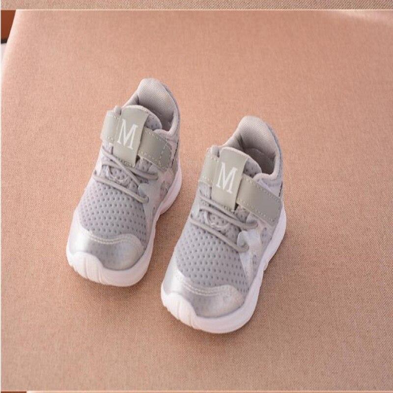 Bkt012018 Новинка осени модные чистая дышащий Розовый досуг кроссовки для девочек белые туфли для мальчиков Брендовая детская обувь