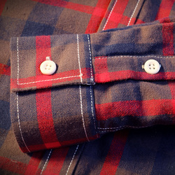 2018 Shirt Men Plaid Flannel Shirts Mens Casual Autumn Winter Spring Thick Warm Fleece Cotton Long Sleeve Shirt Camisa Masculina 6