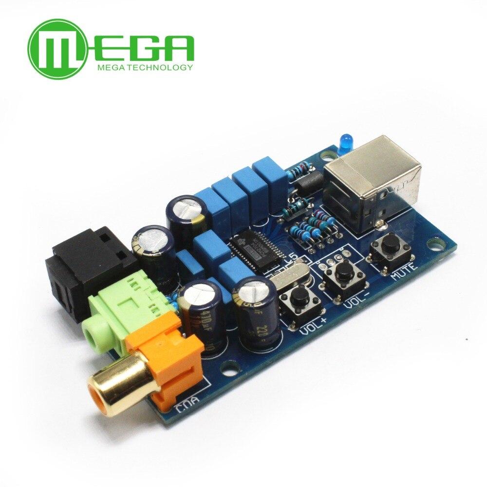 PCM2704 USB DAC USB Power lichtwellenleiter koaxiale analogausgang sz-11