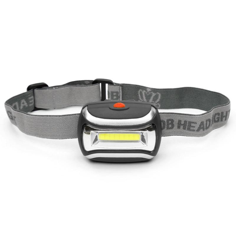 2018 HOT Cob Led Headlamp 3 Mode Headlight Waterproof Led Flashlight Headlamp Head Light Lamp Torch Lanterna With Headband z35