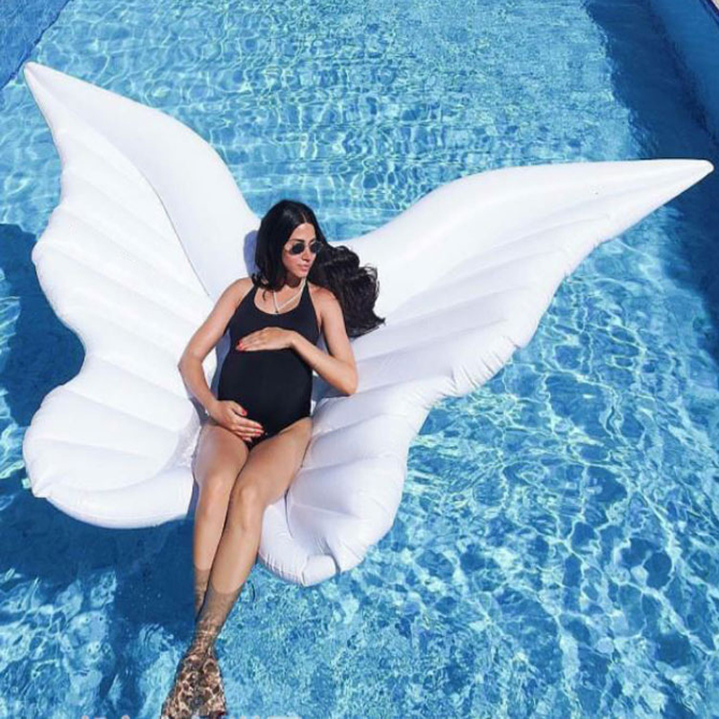 180cm-Giant-White-Angel-Wings-Inflatable-Pool-Float-Air-Mattress-Lounger-Water-Summer-Party-Toys-Butterfly (4)