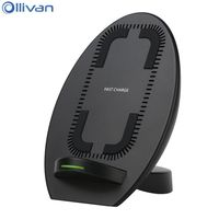 Ollivan Qi Wireless Charger For Samsung Galaxy S8 Note8 Fast Charge Mobile Phone Charger For Iphone