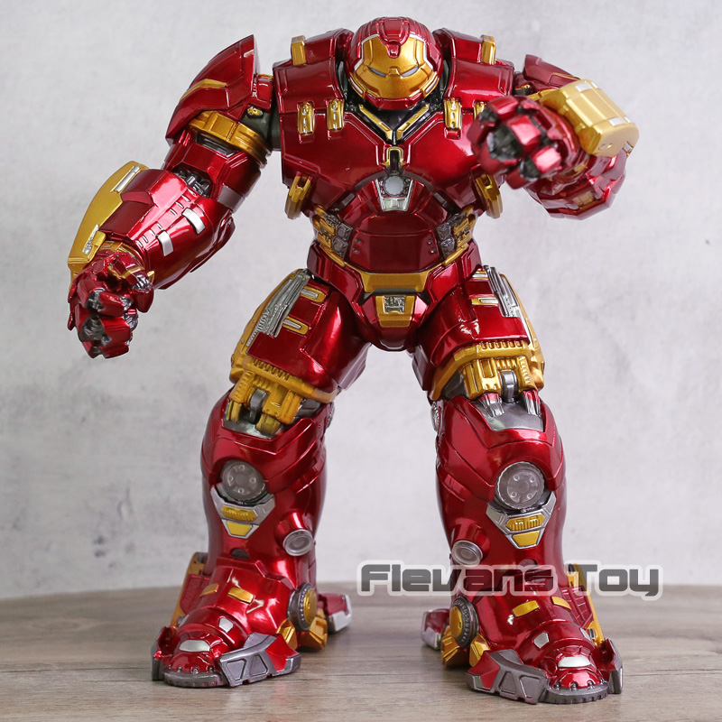 Marvel Avengers Age of Ultron Mark 44 Hulkbuster with Light PVC Action Figures Collectible Model Toy avengers age of ultron captain america pvc action figure collectible model toy 9 23cm