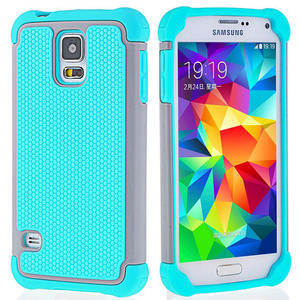 For Samsung Galaxy S5 Case For Samsung S5 Luxury Armor Silicone Rubber Shockproof