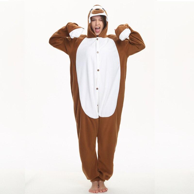 funny sloth adult kigurumi