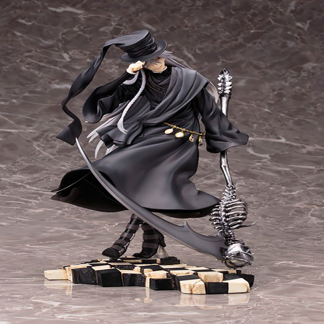 Black Butler Undertaker Anime Action Figure PVC 21cm Collectible Model Toy