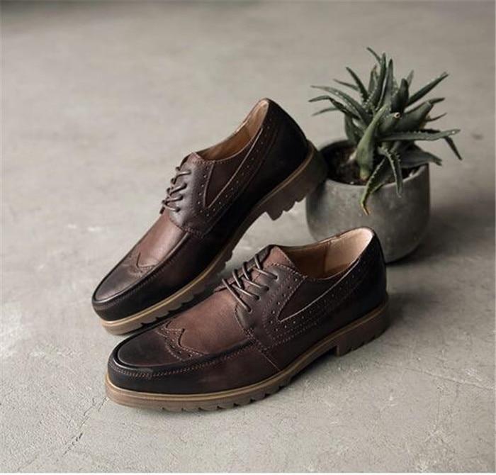 As Hacen De Correspondan Rub Primavera 18 Pic Británica Color Todas Viejo Los Encaje Zapatos Sucio Retros Hombres Casuales Moda d4RwWqCCHc