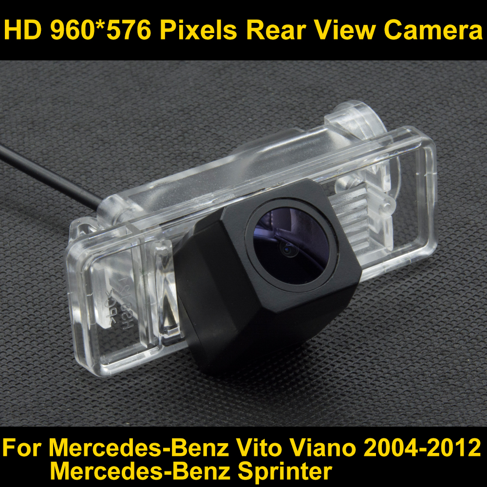 PAL HD 960*576 Pixels high definition Parking Rear view Camera for Mercedes-Benz Vito Viano 2004-2012  Sprinter Car Waterproof