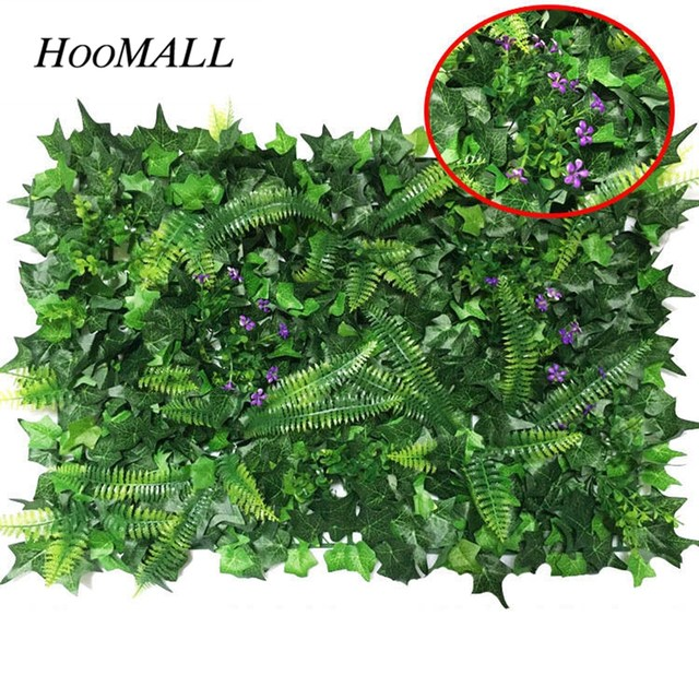 Online shop hoomall 40x60cm artificial tropical plant lawn silk hoomall 40x60cm artificial tropical plant lawn silk green grass wedding hall hotel background wall home decoration accessories junglespirit Images