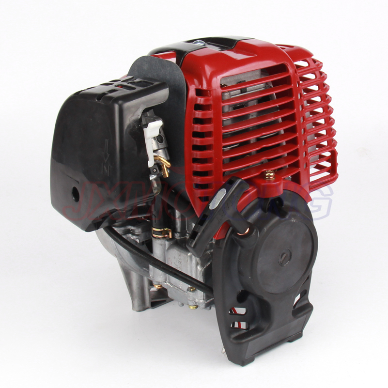 4 stroke GX35 engine four stroke Gasoline engine for brush cutter with 35.8 cc 1.3HP power dla116 inline cnc processed inline gasoline engine petrol engine 116cc for gas airplanes with double cylinders