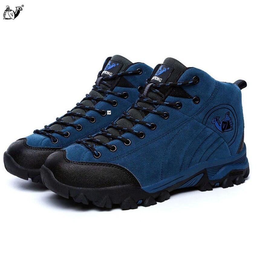 Unisex Zapatos de Escalada al aire libre Impermeable Transpirable Viaje Antidesl