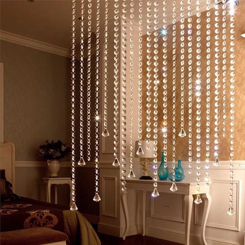 Украшение 8 Угловое прозрачное стекло, хрусталь призмы 14 мм прозрачные хрустальные подвески хрустальные бусины хрустальные люстры Кристальные капли