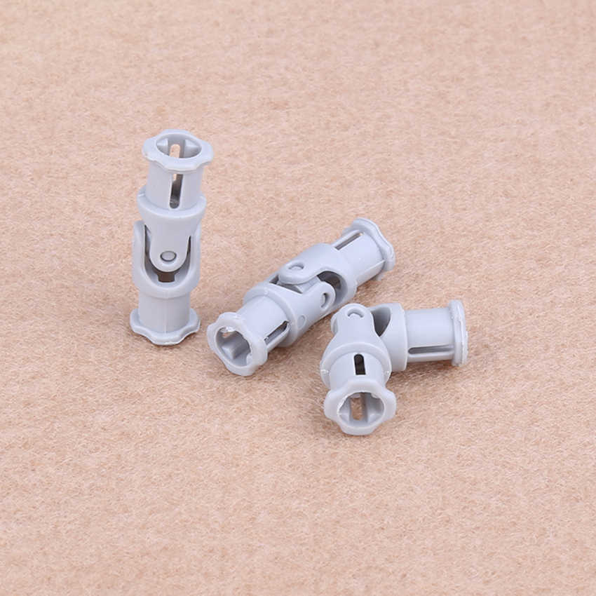 20pcs/lot Decool Technic parts  UNIVERSAL JOINT 3L cardan Compatible with legos 61903 62520 MOC DIY blocks bricks parts set