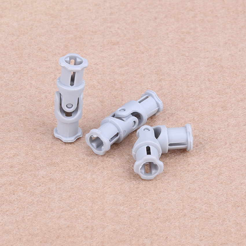 10pcs/lot Decool Technic Parts  UNIVERSAL JOINT 3L Cardan Compatible With Legos 61903 62520 MOC DIY Blocks Bricks Parts Set