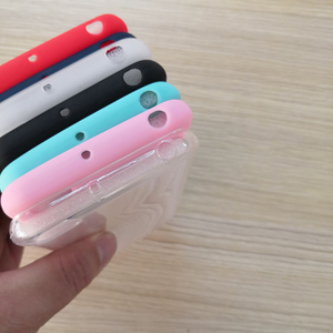 Image 4 - Crystal Clear and Candy silicone Soft TPU Case For Global Version Xiaomi Redmi GO 5.0 Mobile Phone back cover Redmi GO case