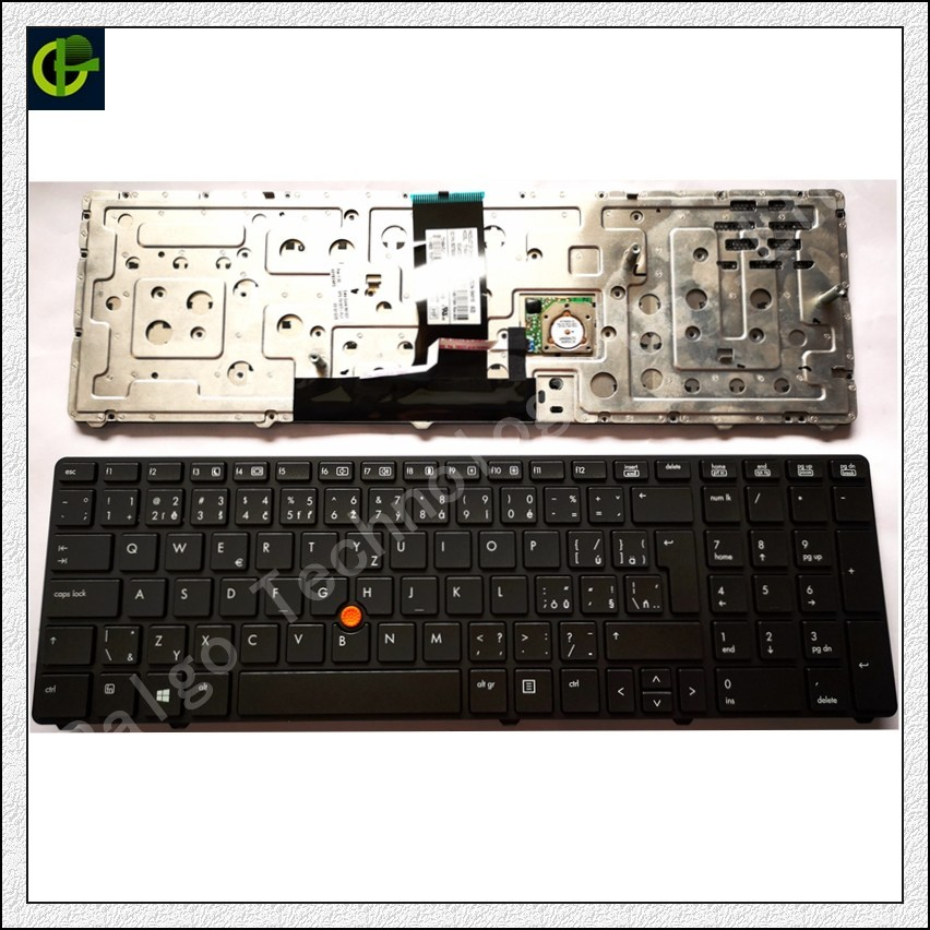 все цены на Czech Keyboard for HP EliteBook 8760p 8760w 8770p 8770W CZ fit Slovakia SK keyboard laptop black онлайн