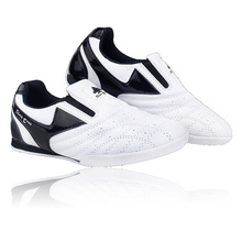 Pinetree White strip breathable Taekwondo Shoes Martial Arts Sneaker kids sport shoes Professional Training Competition shoes