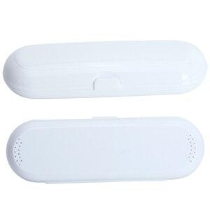 Image 5 - Elektrische Zahnbürste Fall Sicher Zähne Pinsel Box Outdoor Zahn Pinsel Lagerung Camping Zahnbürste Box Für Oral B (Nur Reise box)
