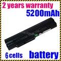 Jigu preto bateria do portátil para série msi u100 u105 u90 12 x110-g a7hbg x110-l a7sbg md96975 u230 u200 bty-s11 bty-s12