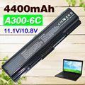 4400 mah bateria para toshiba pa3533u-1bas pa3534u-1bas pa3534u-1brs satellite a200 a205 a210 a215 a300 l300 l450d l500 l505 a500