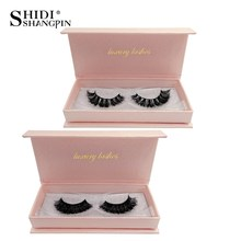 False eyelashes natural long 3d mink lashes  handmade lashes thick mink eyelashes extensions makeups maquillaje faux cils clios