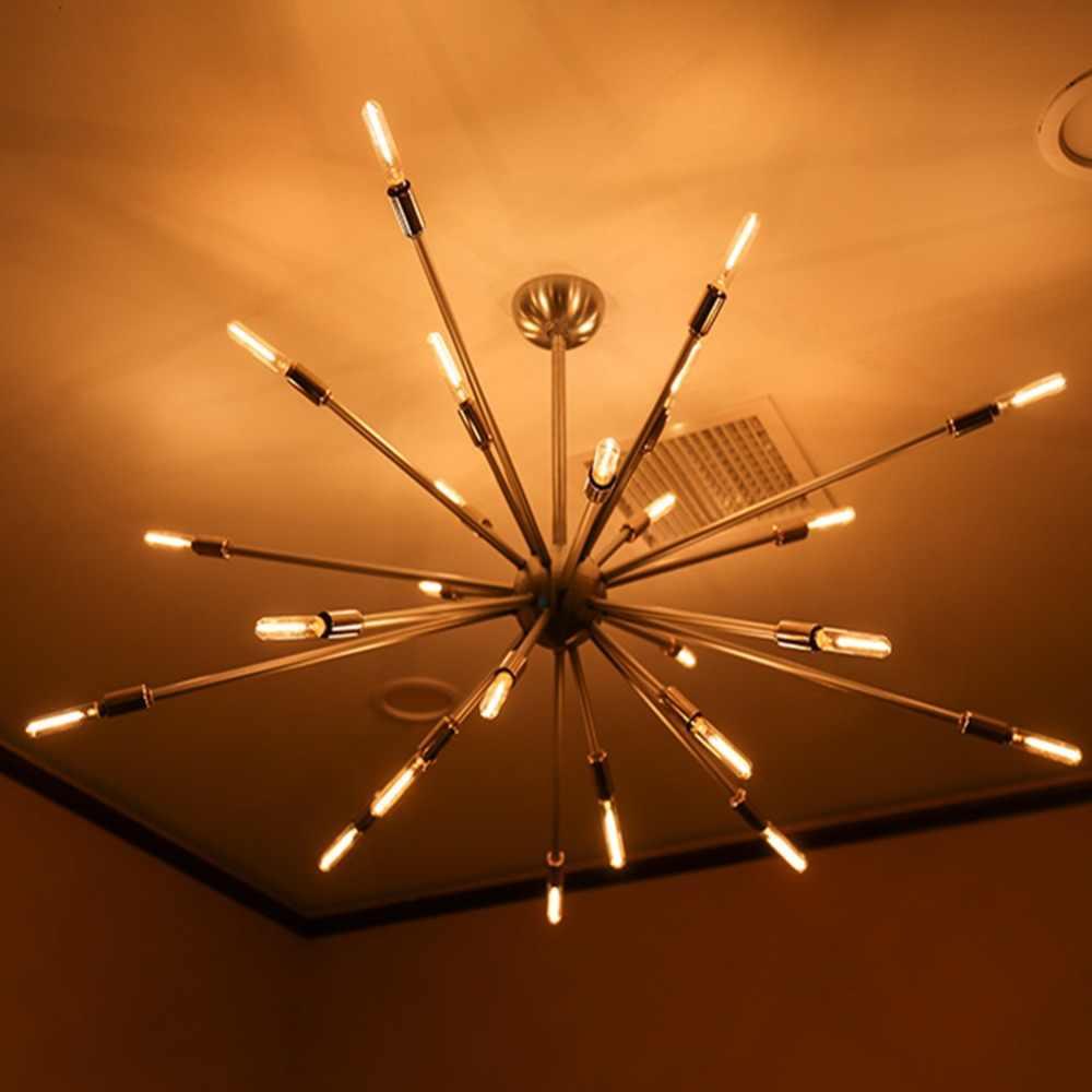 E14 E27 LED หรี่แสงได้ 220V ทอง TUBULAR โคมระย้าโคมไฟ 0.5W 1W 2W 3W 4W 6W 8W 2200K LED หลอดไฟ