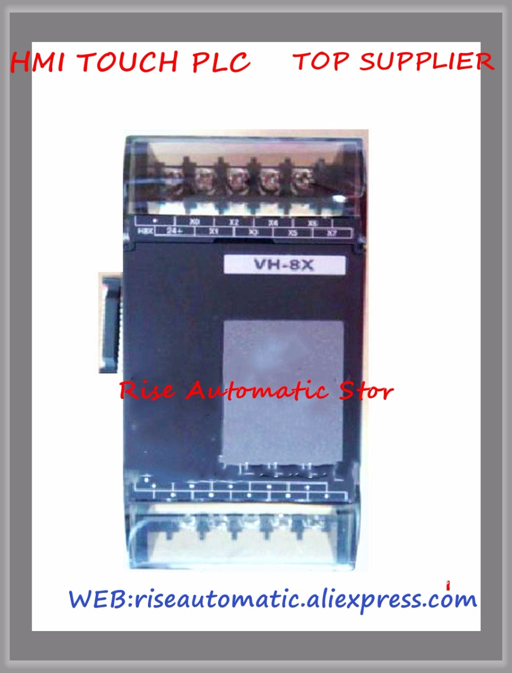VH-8X PLC New Original 24VDC 8 point input Expansion Module new original programmable logic controller vh 16mt di plc 24vdc 16 point input 16 point output connector