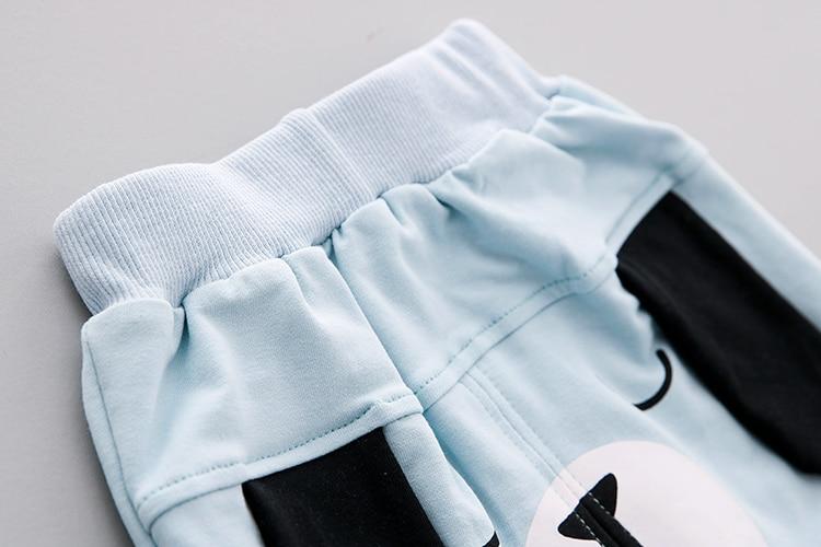 Пёс из мультфильма комплекты одежды для маленьких девочек весна 2018 г. новая хлопковая одежда для мальчиков комплект футболки с длинными рук...