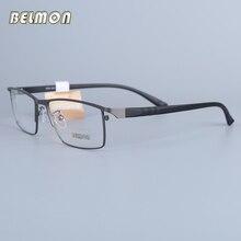 Belmon оправа для очков мужские Nerd компьютерные оптические РЕЦЕПТ на очки для зрения рамка для мужских прозрачные линзы 6605