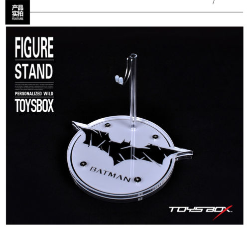 1/6 HT Figure Display Stand Base Topic Crystal platform Batman 011 For Action Figure Accessories