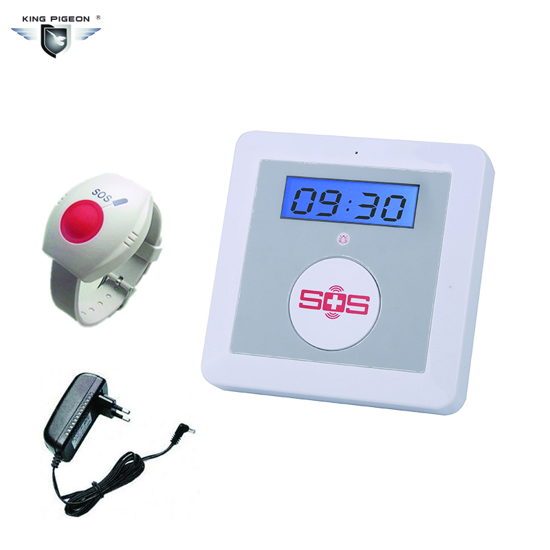 цены  GSM Elderly Alarm Care LCD Display SOS Emergency Call Burglar Home Smart System Security Panel Wireless Remote Control for Elder