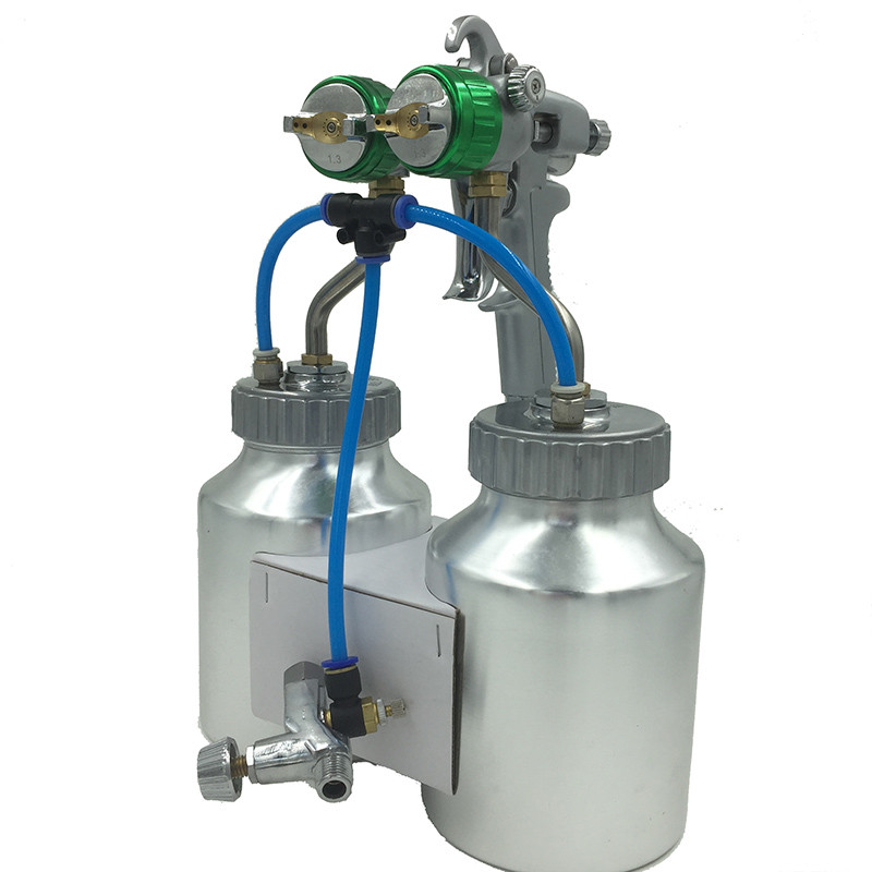 SAT1200 nagynyomású airbrush autófesték spray kettős fúvóka - Elektromos kéziszerszámok - Fénykép 2