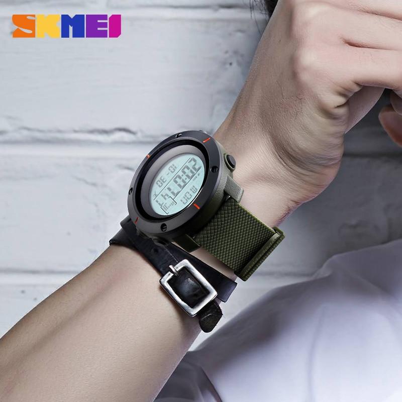 SKMEI Mode Heren Sport Horloges Digitale Man Klok Horloges Outdoor - Herenhorloges - Foto 4