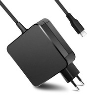 65W Type C Charger for Lenovo 100e 300e 500e Chromebook 2nd Gen MTK 81ER 81ES 81H0 81MA 81MB 81QB 81QC Laptop Power Supply
