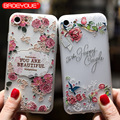 BROEYOUE Case For Samsung Galaxy J2 J3 J5 J7 A3 A5 A7 2016 2017 Relief Silicone Cases For iPhone 5 5S SE 6 6S 7 8 Plus X Cases