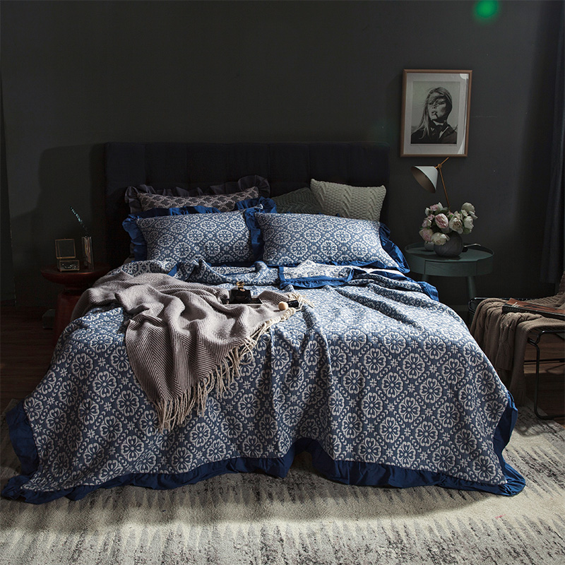 100%Cotton Air conditioning Summer Quilt Bed spread blanket Bed cover set Mattress cover Bed sheet set couvre lit colcha de cama100%Cotton Air conditioning Summer Quilt Bed spread blanket Bed cover set Mattress cover Bed sheet set couvre lit colcha de cama